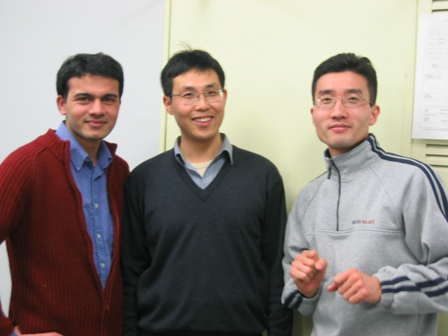 Last day with Dr. Jiang (in middle)